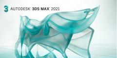 三维动画建模制作软件Autodesk 3DS MAX 2021.1 中/英文